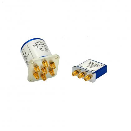 Les commutateurs à faible PIM sont parfaitement adaptés aux systèmes de test RF et aux bancs de test.