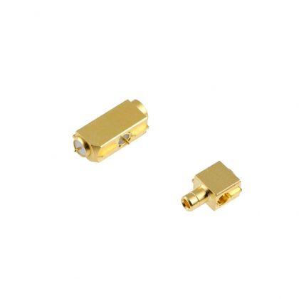 Les connecteurs de commutation RF sont des adaptateurs montés sur PCB avec fonction de commutation mécanique intégrée.