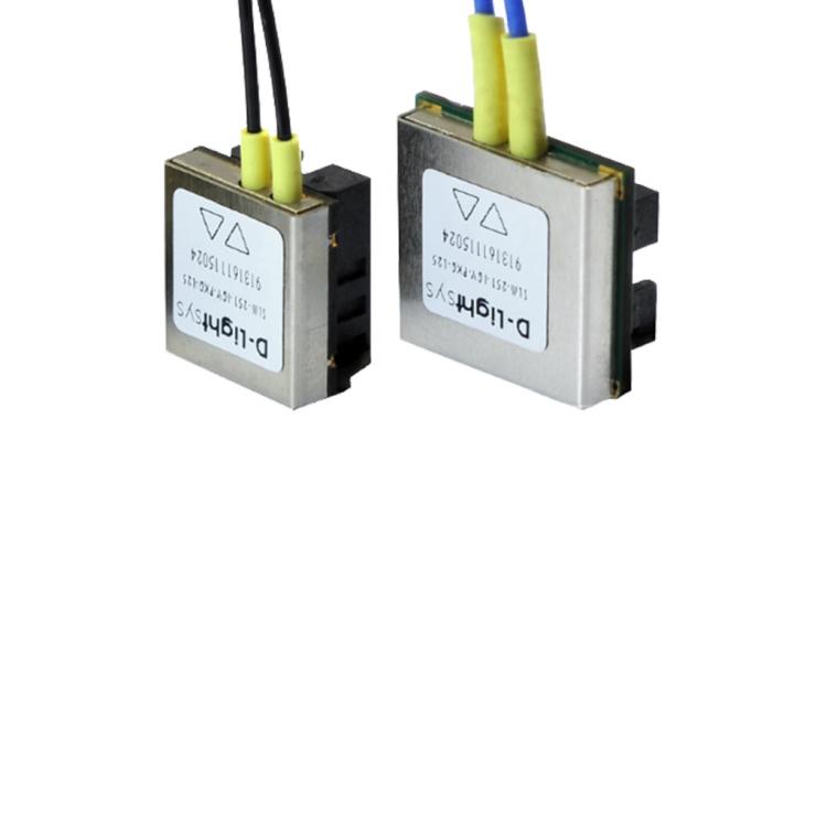 Émetteurs-récepteurs optiques monocanaux S-Light de la marque Radiall D-Lightsys pour les applications dans des environnements difficiles