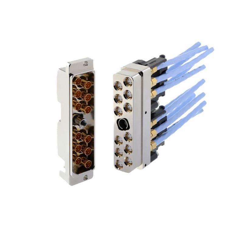 Série HDQX pour la transmission de signaux Ethernet et RF haute vitesse dans les applications civiles et militaires