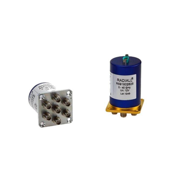 Les commutateurs coaxiaux subminiatures ont d'excellentes performances RF et répétabilité.