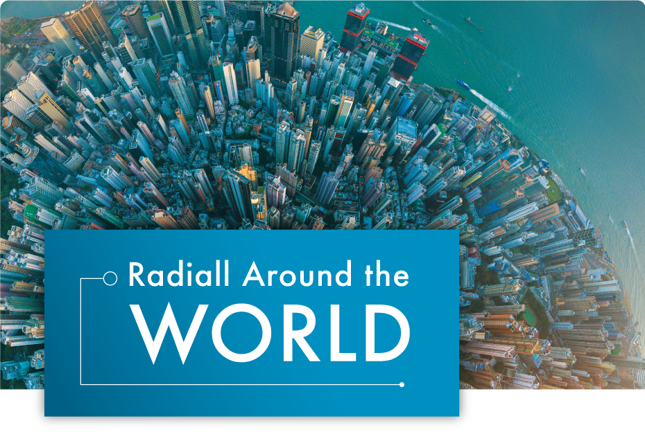 Radiall Around the World (Summer 2020)