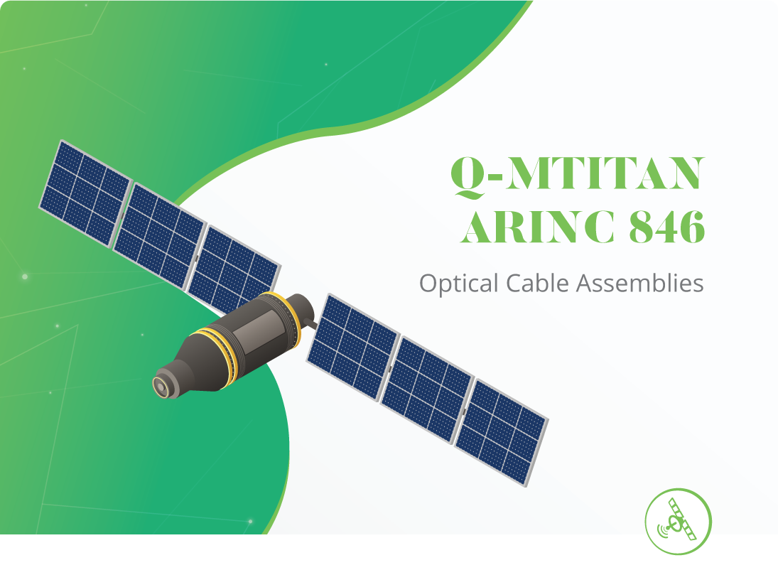 Space Grade Multi-fiber Assemblies with Q-MTitan™
